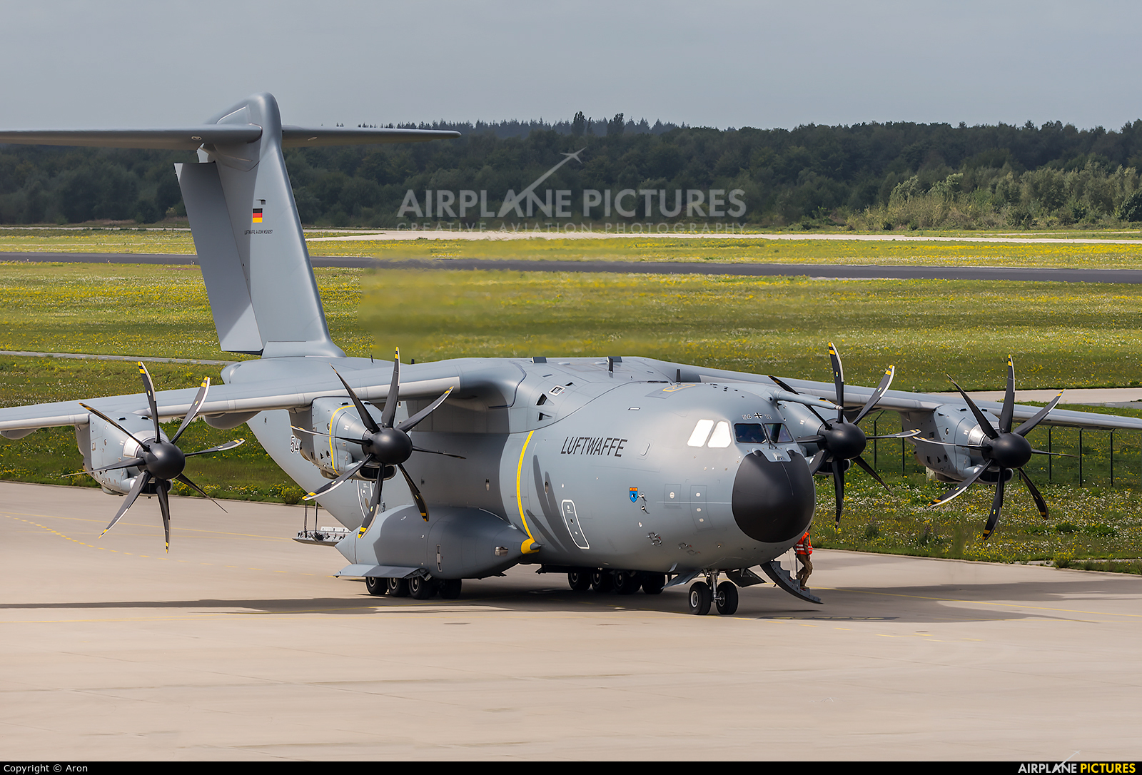 Germany - Air Force 54+12 aircraft at Eindhoven