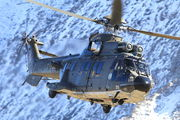 T-335 - Switzerland - Air Force Aerospatiale AS532 Cougar aircraft