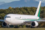 Private Boeing 767 visits Geneva title=