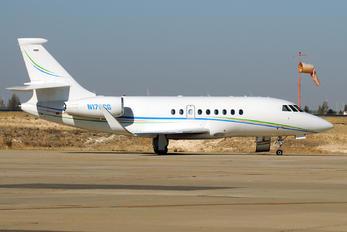 N176CG - Private Dassault Falcon 2000 DX, EX
