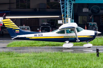 HK-5018 - Private Cessna 182 Skylane (all models except RG)