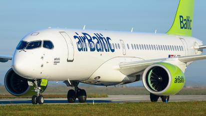 YL-CSB - Air Baltic Bombardier CS300