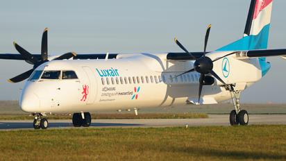 LX-LGE - Luxair de Havilland Canada DHC-8-400Q / Bombardier Q400
