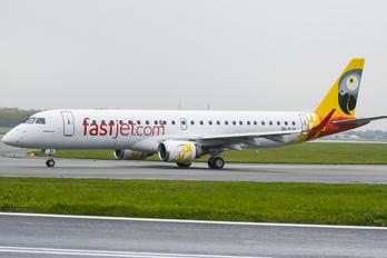 5H-FJA - Fastjet Embraer ERJ-190 (190-100)