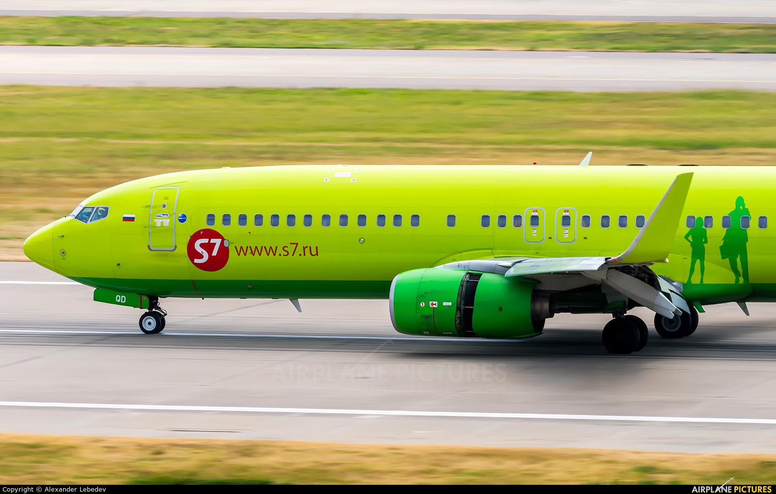 S7 Airlines VP-BQD aircraft at Sochi Intl