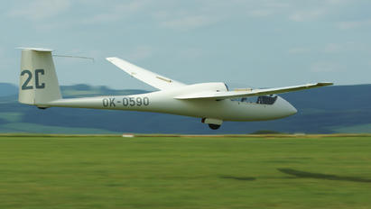 OK-0590 - Private Schempp-Hirth Standard Cirrus