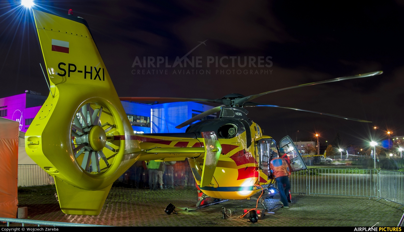 Polish Medical Air Rescue - Lotnicze Pogotowie Ratunkowe SP-HXI aircraft at Warsaw - Frederic Chopin