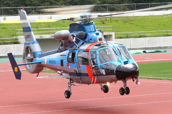 JA22PC - Japan - Police Eurocopter AS365 Dauphin 2