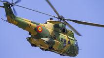 87 - Romania - Air Force IAR Industria Aeronautică Română IAR 330 Puma aircraft