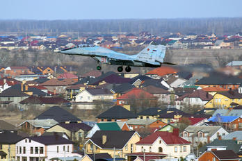 "91 - Russia - Air Force ""Strizhi"" Mikoyan-Gurevich MiG-29UB"