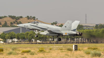CE 15-11 - Spain - Air Force McDonnell Douglas EF-18A Hornet