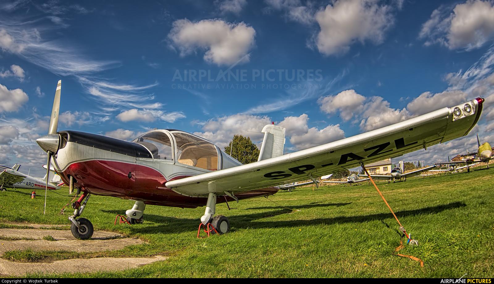 Aeroklub Rzeszowski SP-AZL aircraft at Rzeszów-Jasionka
