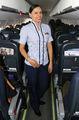 - - Satena - Aviation Glamour - Flight Attendant aircraft