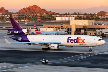 N614FE - FedEx Federal Express McDonnell Douglas MD-11F