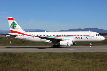 OD-MRN - MEA - Middle East Airlines Airbus A320