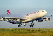 3B-NBI - Air Mauritius Airbus A340-300 aircraft