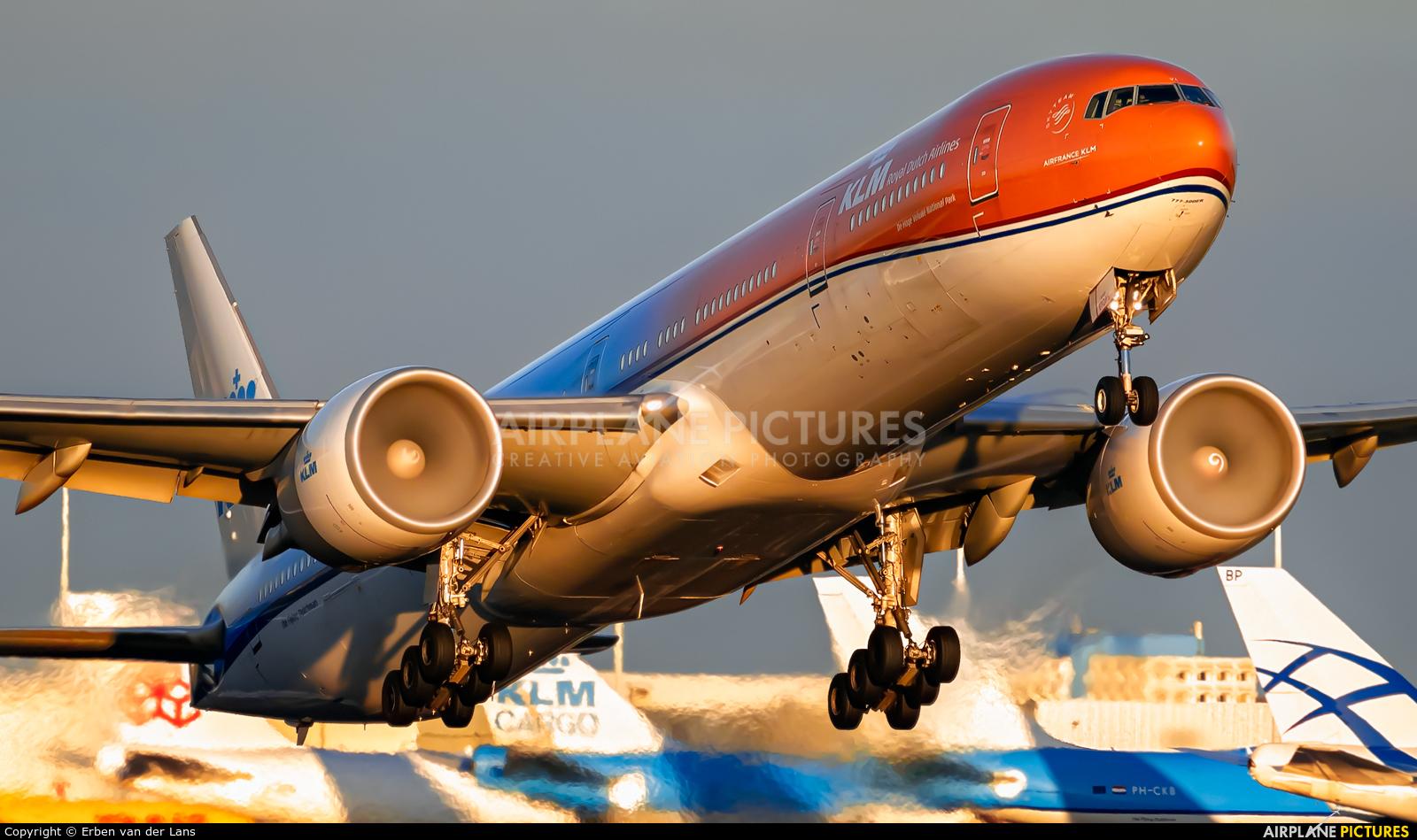 KLM PH-BVA aircraft at Amsterdam - Schiphol