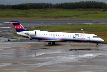 JA13RJ - Ibex Airlines - ANA Connection Bombardier CRJ-700