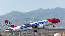 HB-IJW - Edelweiss Airbus A320 aircraft