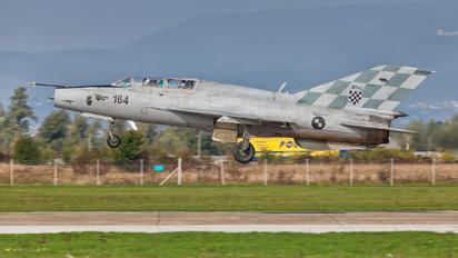 164 - Croatia - Air Force Mikoyan-Gurevich MiG-21UMD