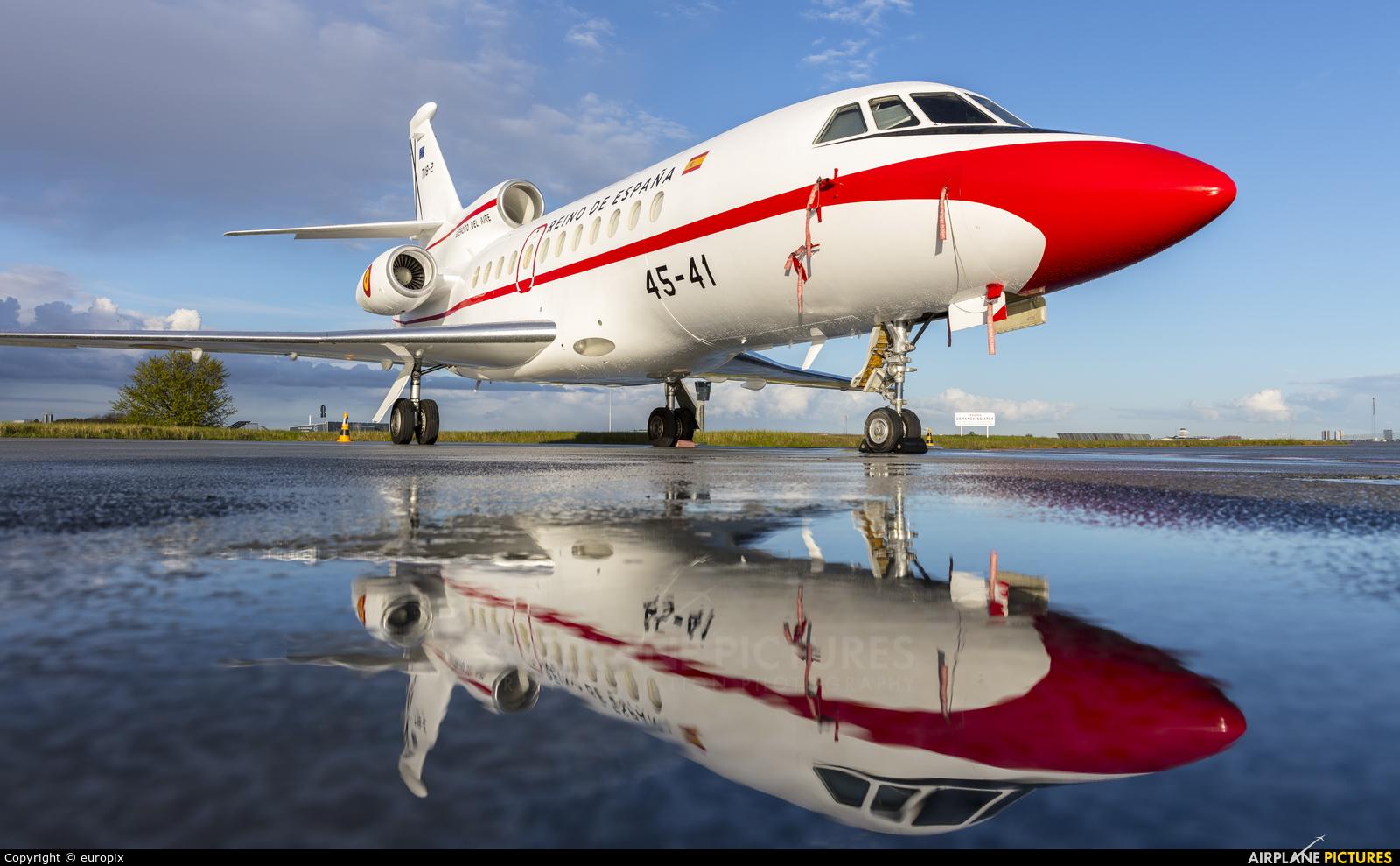 Spain - Air Force T18-2 aircraft at Copenhagen Kastrup