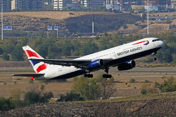 G-BZHA - British Airways Boeing 767-300