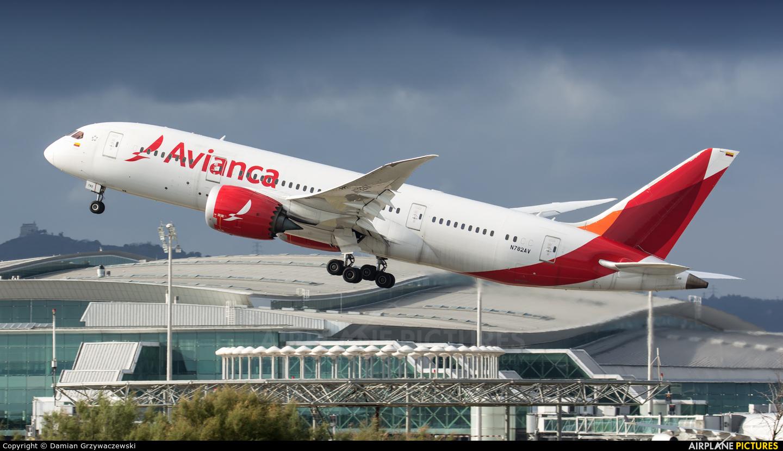 Avianca N782AV aircraft at Barcelona - El Prat