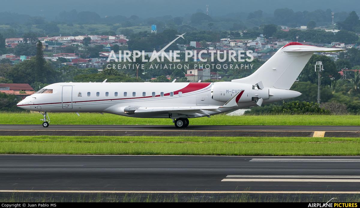 Private M-CVGL aircraft at San Jose - Juan Santamaría Intl
