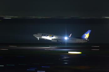 JA73NU - Skymark Airlines Boeing 737-800