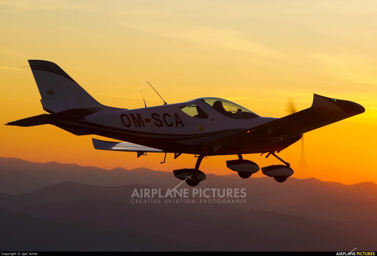 Private OM-SCA aircraft at In Flight - Slovakia