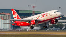D-ABNK - Air Berlin Airbus A320 aircraft