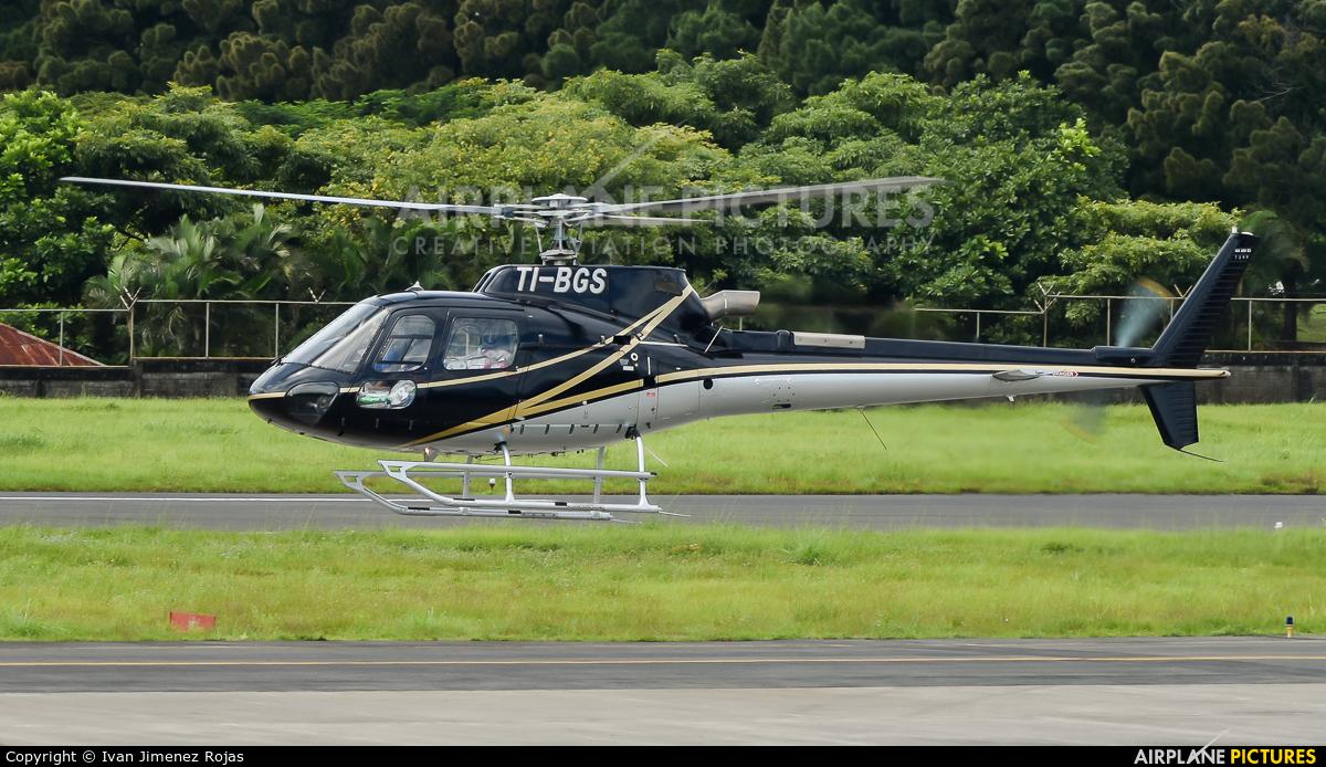 Helijet TI-BGS aircraft at San Jose - Tobías Bolaños Intl