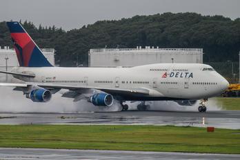 N670US - Delta Air Lines Boeing 747-400