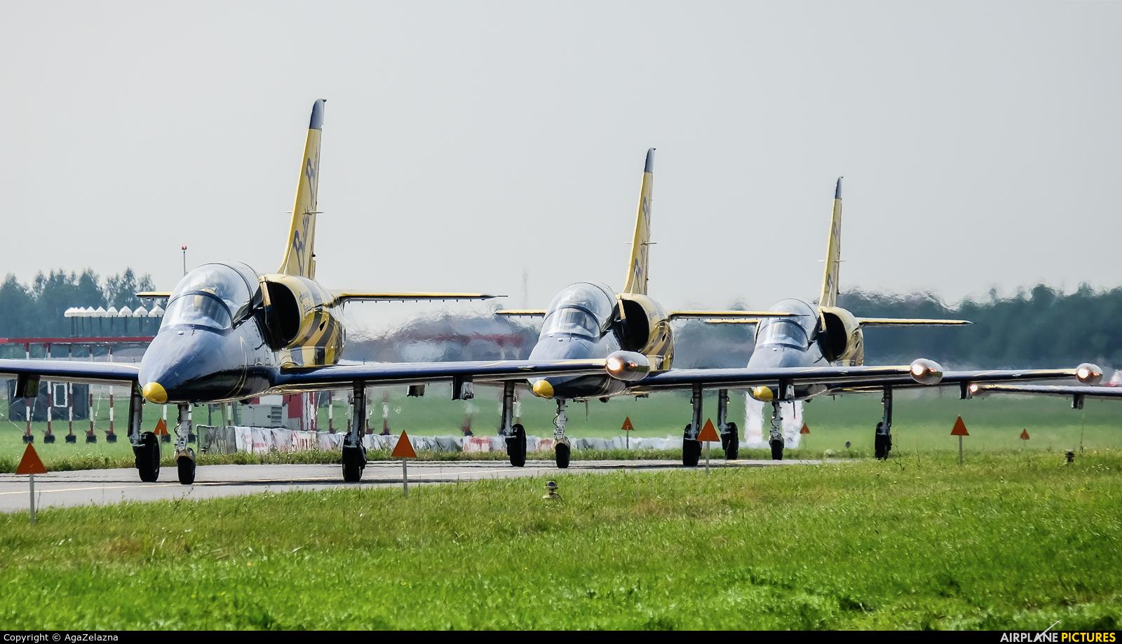Baltic Bees Jet Team YL-KSH aircraft at Radom - Sadków