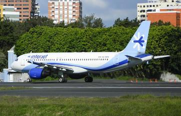 XA-RBA - Interjet Airbus A320