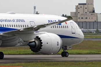 JA892A - ANA - All Nippon Airways Boeing 787-9 Dreamliner