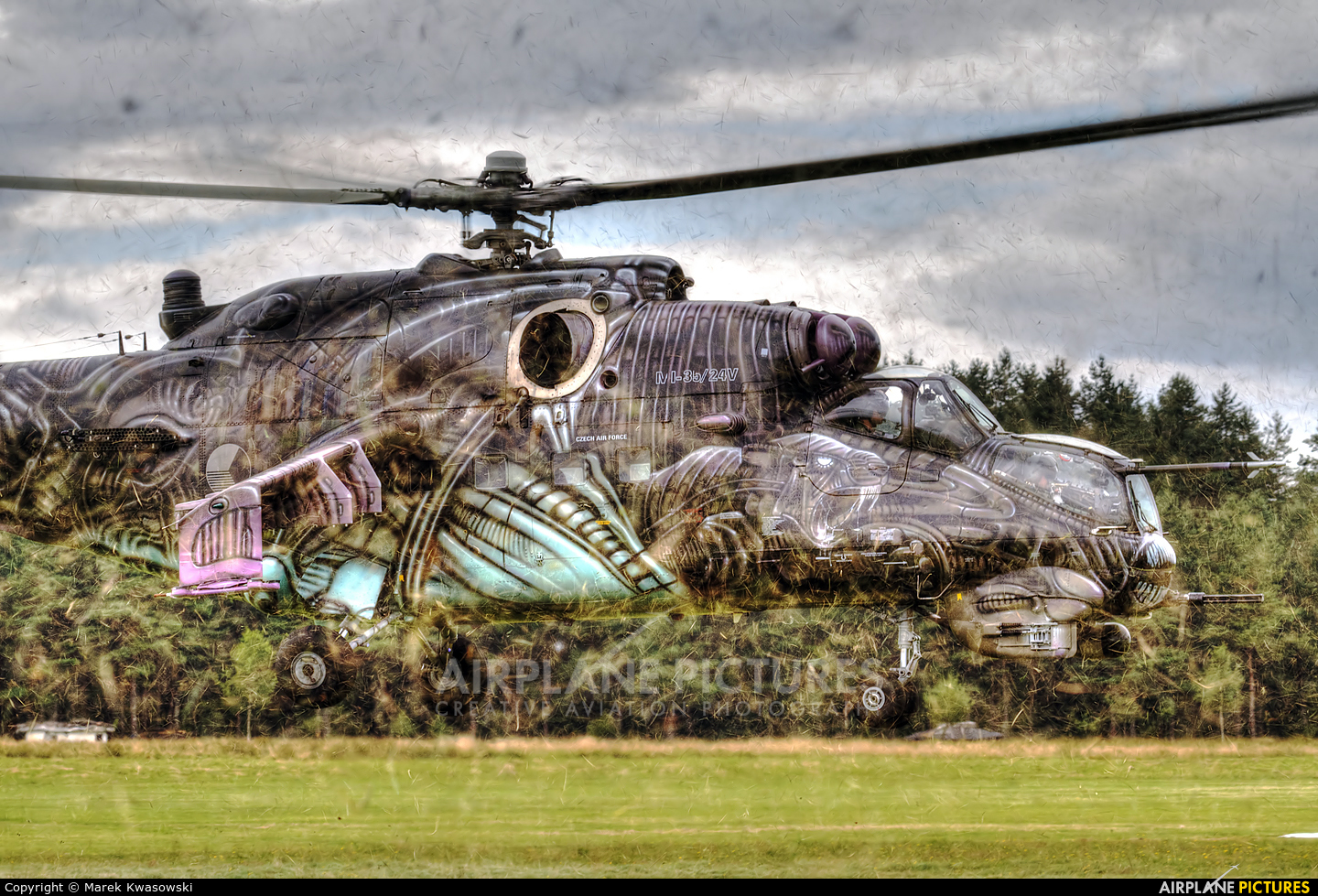 3366 - Czech - Air Force Mil Mi-24 SuperHind Mk.III at ...