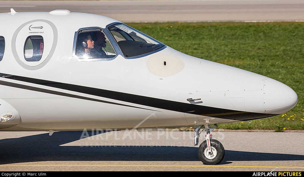 Eclipse Aviation N550F aircraft at Augsburg