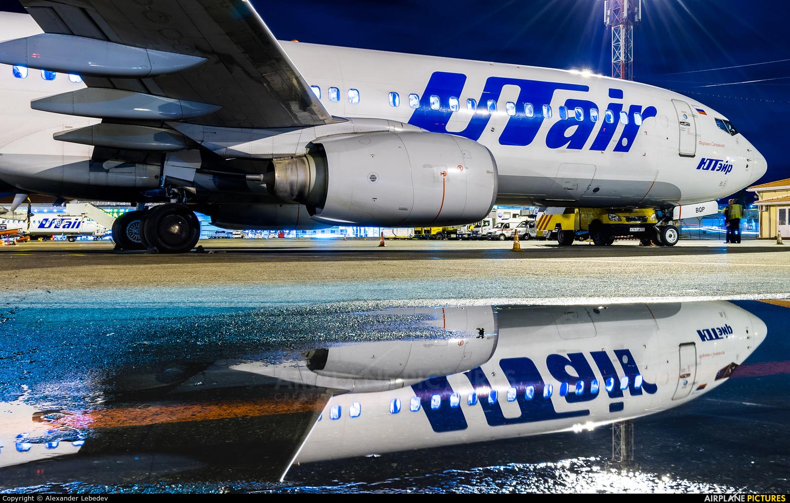 UTair VQ-BQP aircraft at Krasnodar