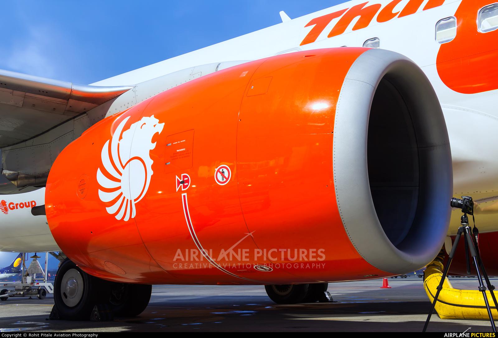 Thai Lion Air HS-LUV aircraft at Mumbai - Chhatrapati Shivaji Intl