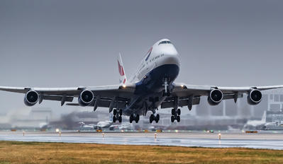 G-CIVV - British Airways Boeing 747-400