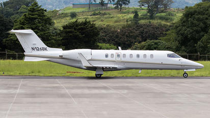 N126BK - Private Learjet 45