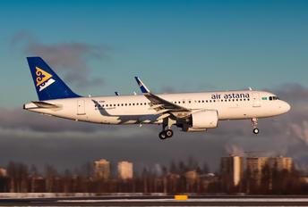 P4-KBH - Air Astana Airbus A320 NEO