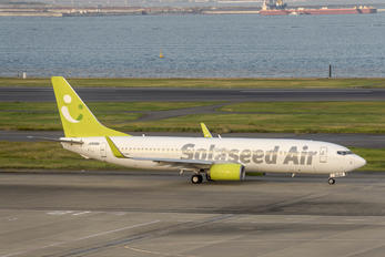 JA806X - Solaseed Air - Skynet Asia Airways Boeing 737-800