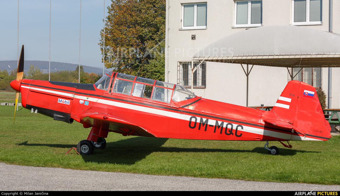 Aeroklub Trenčín OM-MQC aircraft at Trenčín