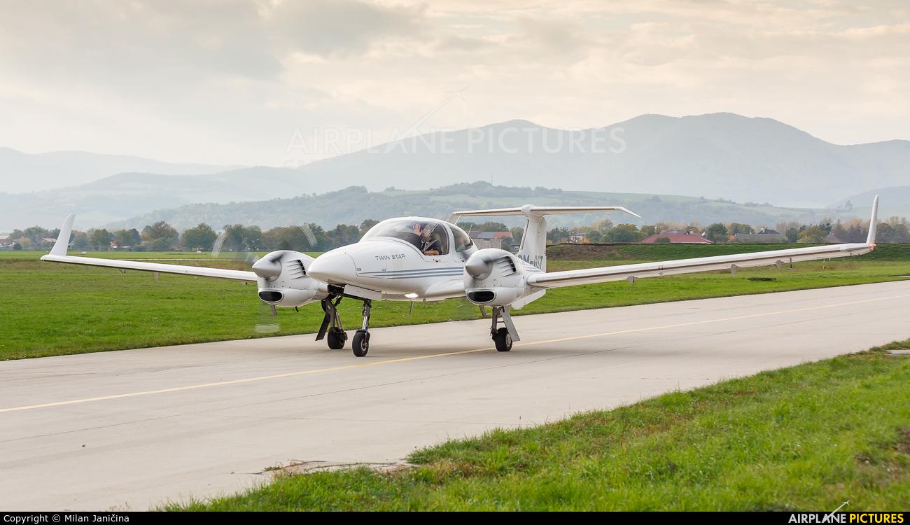 Private OM-GST aircraft at Trenčín