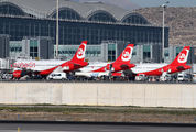 - - Air Berlin - Airport Overview - Apron aircraft