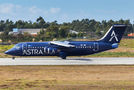 Rare visit of Astra Airlines BAe146 to Porto