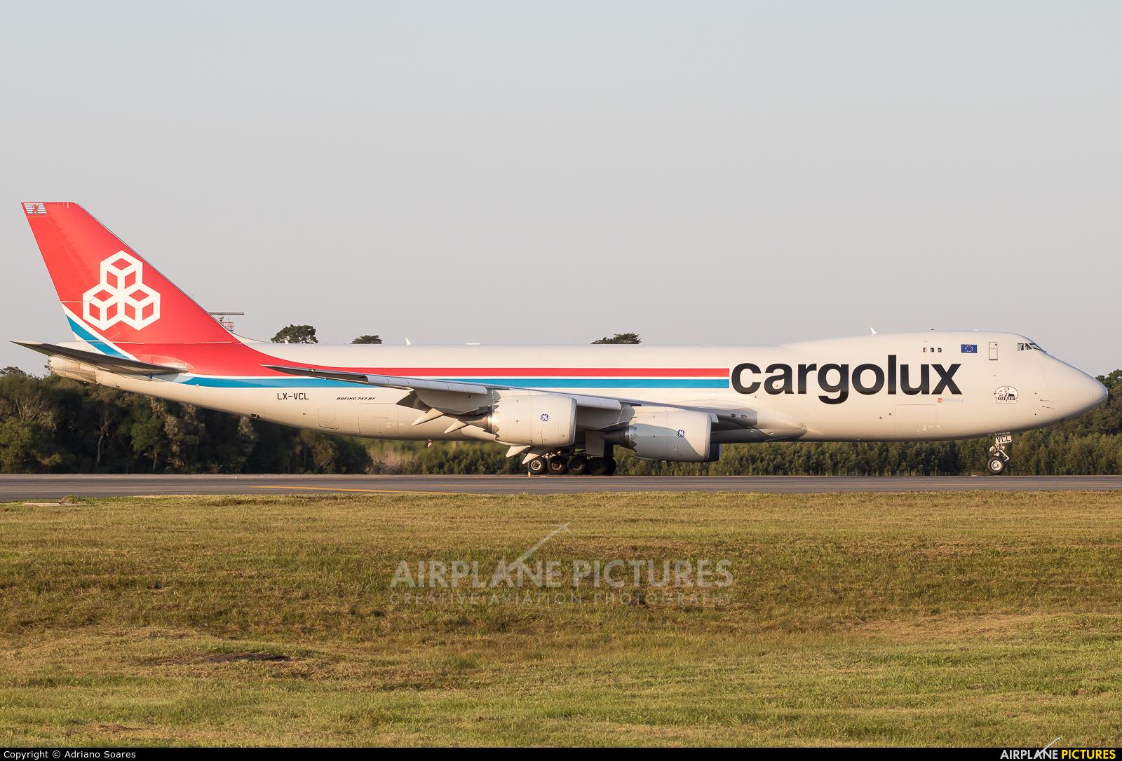Cargolux LX-VCL aircraft at Curitiba -  Afonso Pena