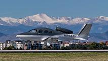 N9943H - Private Cirrus Vision SF50 aircraft